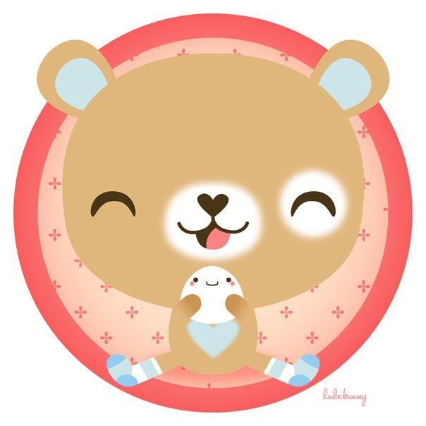 tumble & bun by Luli Bunny, via Flickr
