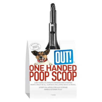 Simply OUT One Handed Poop Scooper