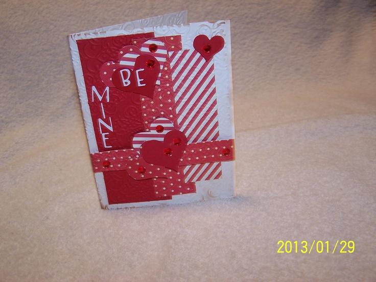valentine card english