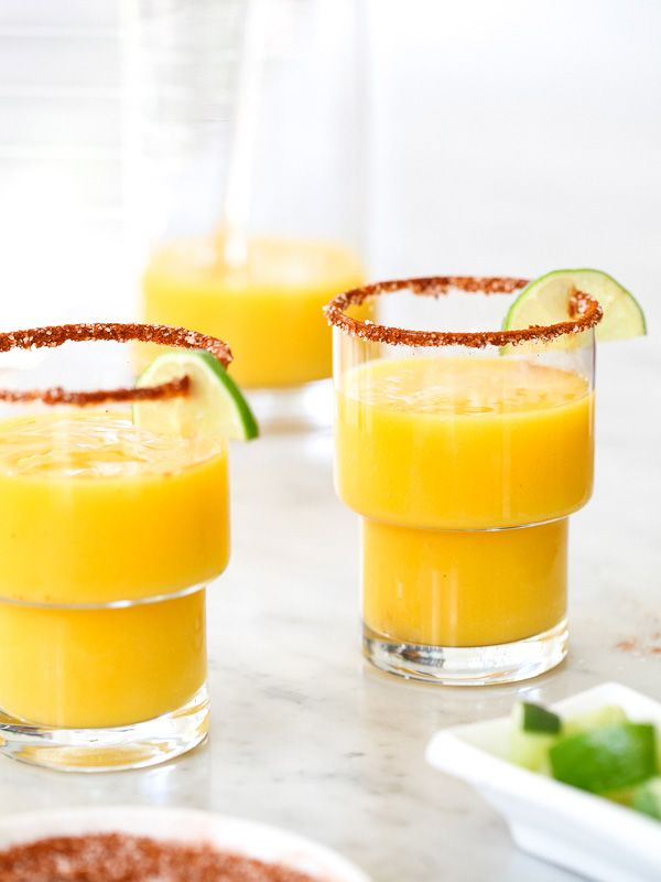 Mango Margarita with Chile Salt and Lime | Recipe