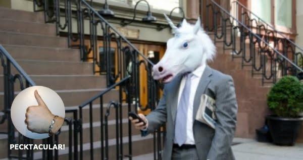 Unicorn Head-HAHAHAHA!