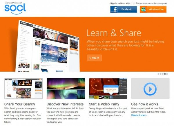 Microsoft Launches Socl Social Network: A Look Inside