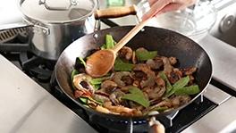 ... Stir-Fry of Shiitake, Shrimp, and Snow Pea Stir-Fry. Everyday Food