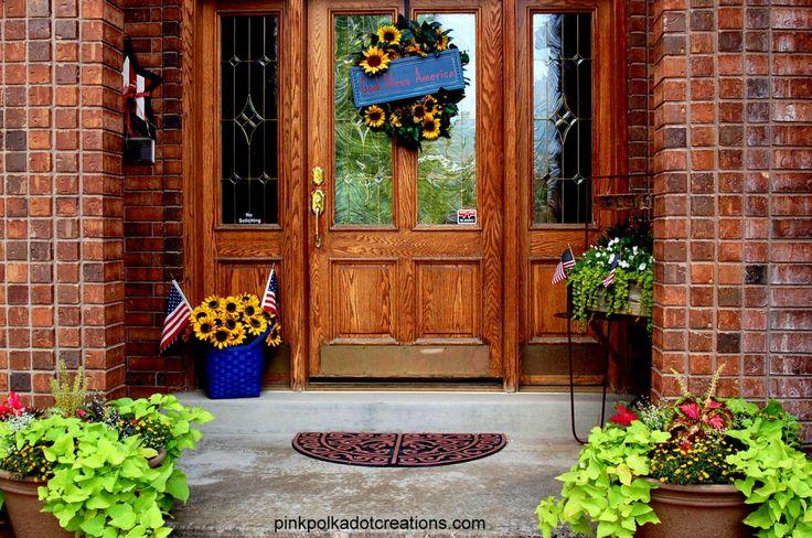 Summer Porch Decor Ideas Outdoors Pinterest