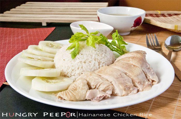 Hainanese Chicken Rice | Malaysian/Singaporean Cuisine | Pinterest