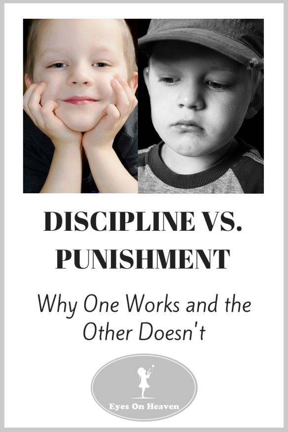 essay on punishment vs discipline When it comes to correcting your child's misbehavior, there's a big difference between punishment and discipline while punishment focuses on making a child suffer for breaking the rules.
