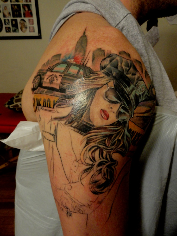 50 Police Tattoos For Men – Law Enforcement Officer Design Ideas