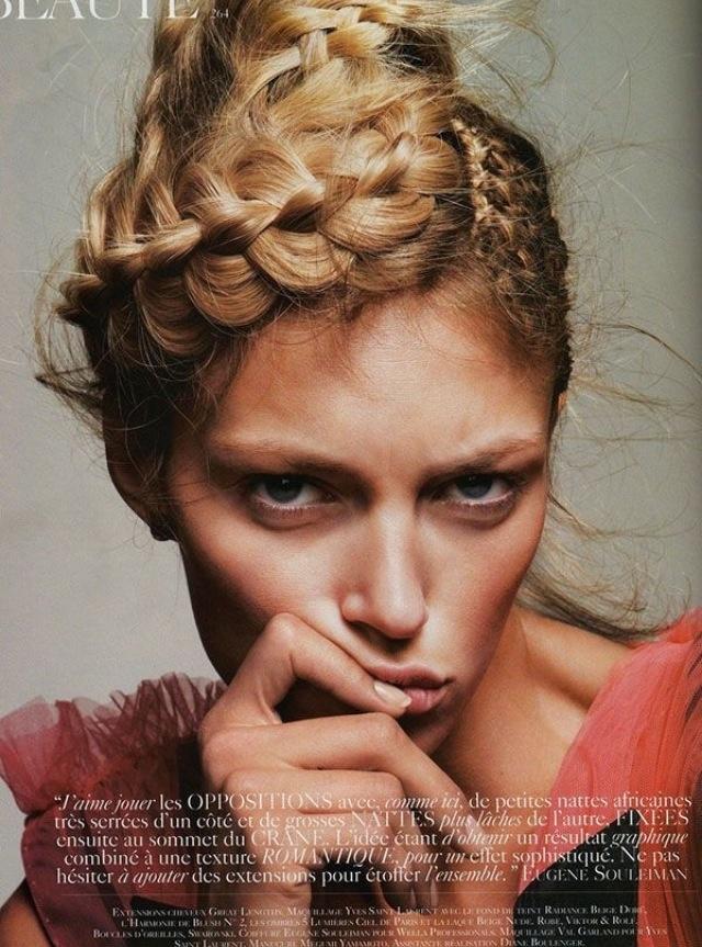 Braids   2014 Hair Trends   Pinterest