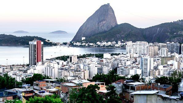 A scenic shot of Rio de Janeiro