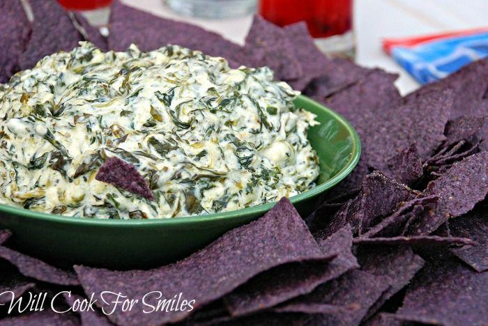 ... creamy spinach spinach parmesan diprecipe creamy parmesan spinach dip