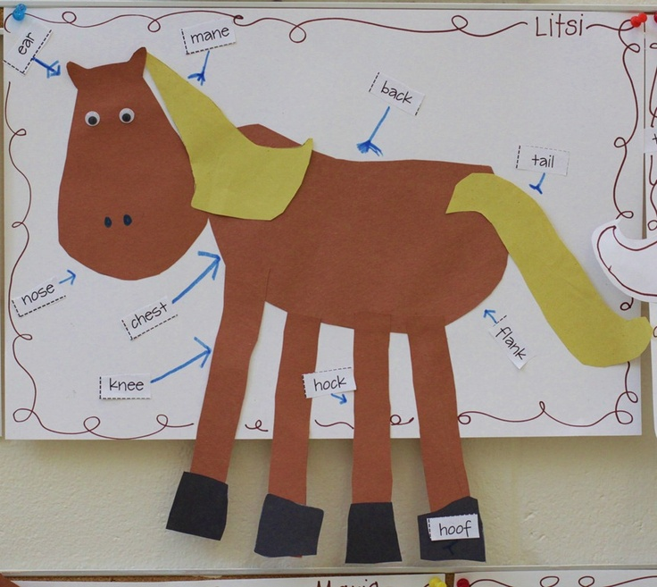 Label Horse Craft | Chinese New Year | Pinterest