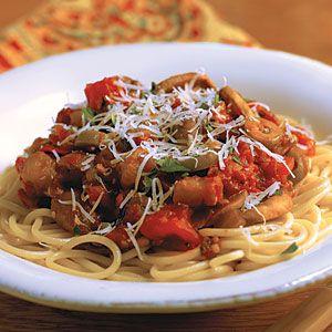 Eggplant Spaghetti | MyRecipes.com