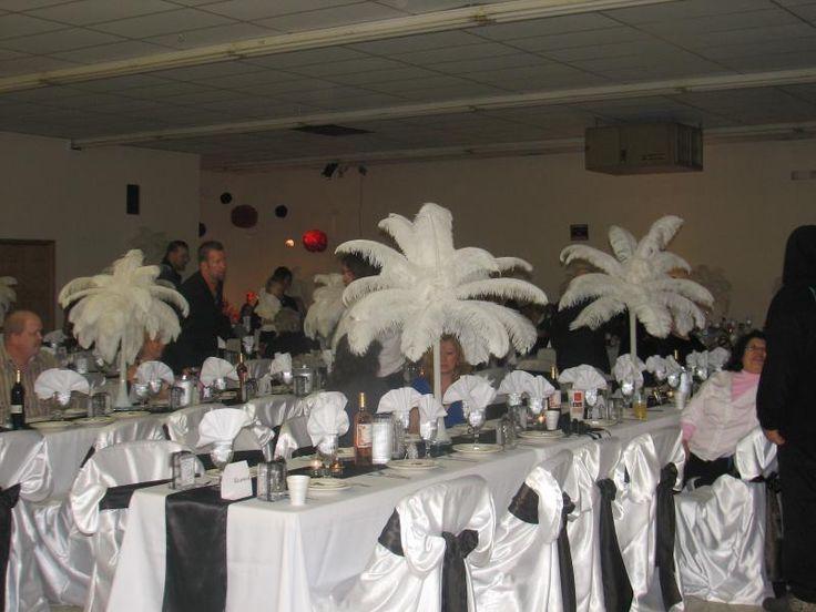 wedding reception decorations auction 2013 great gatsby pinterest - Wedding Decoration Rentals