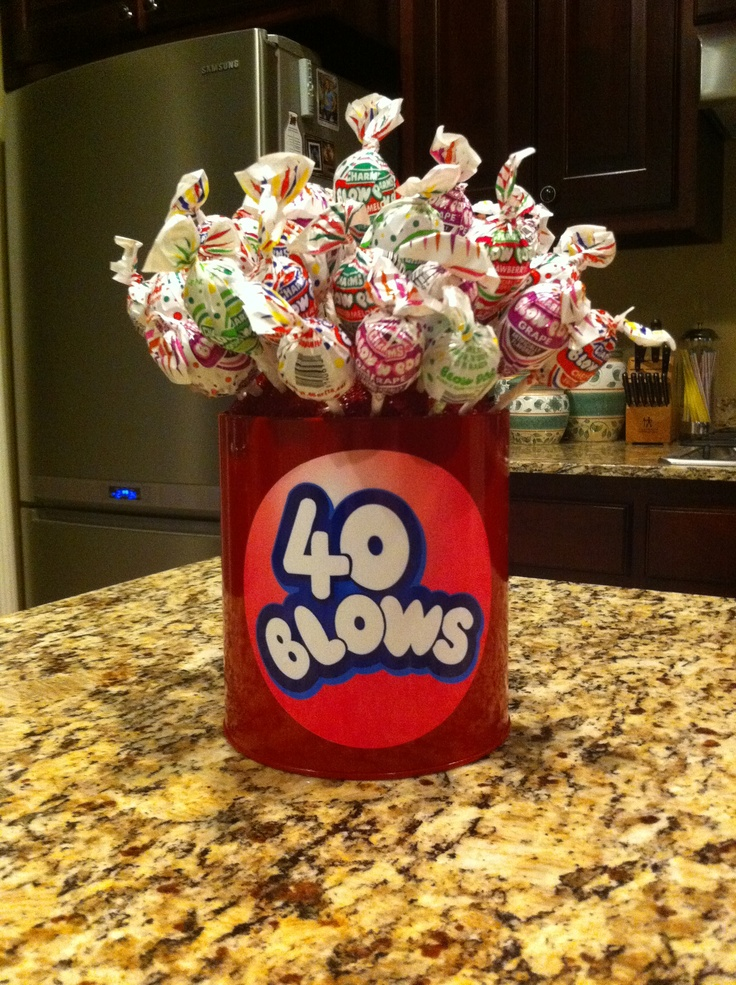 40 BLOWS Birthday treat