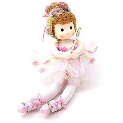 Sugar plum fairy collectible musical doll