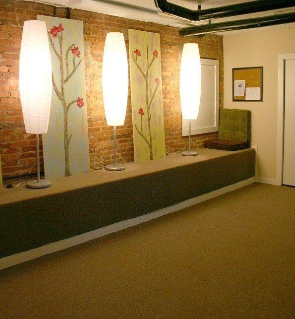 Yoga room yoga and massage pinterest for Yoga room design ideas