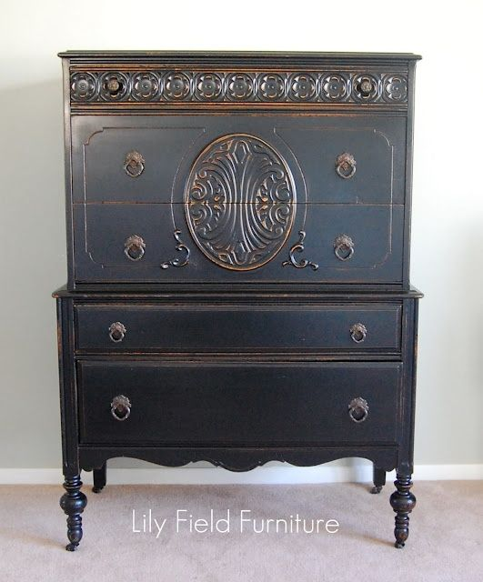 Furniture ideas graphite chalk paint amp other painted furniture