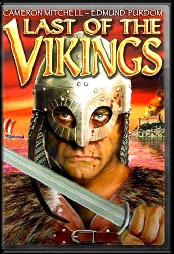 Cartel película El último Vikingo (1961)