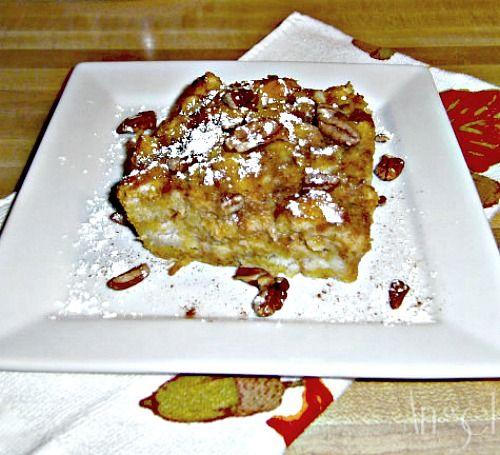 Pumpkin Pie French Toast Bake   Sweet Eats   Pinterest