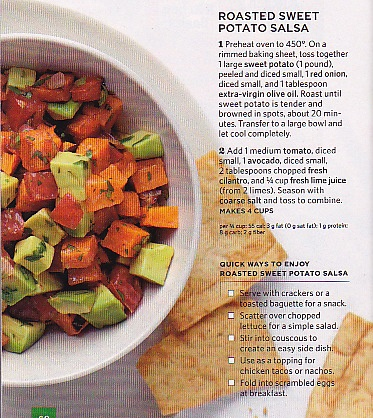 Roasted Sweet Potato Salsa #Vegetarian #Vegan #GlutenFree