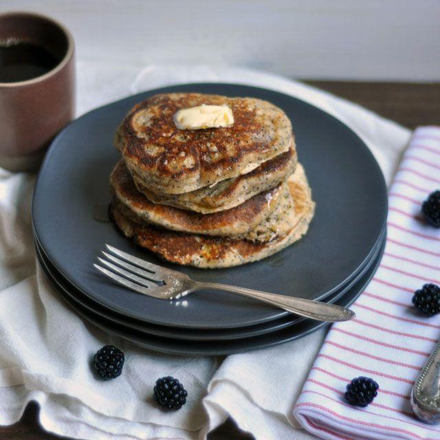 Whole Wheat Almond-Poppy Seed Pancakes: Make Plans | Turntable Kitchen