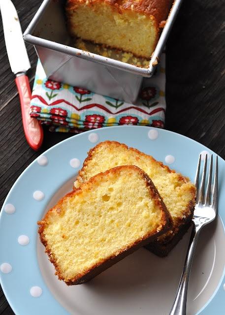 "The Best Damn Meyer Lemon Cake"" from Saveur Magazine"
