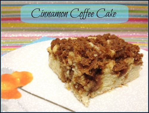 Cinnamon Coffee Cake - the best ever! Super fluffy and moist, tho so ...