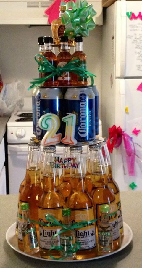 My daughter created this for her brothers 21st birthday.