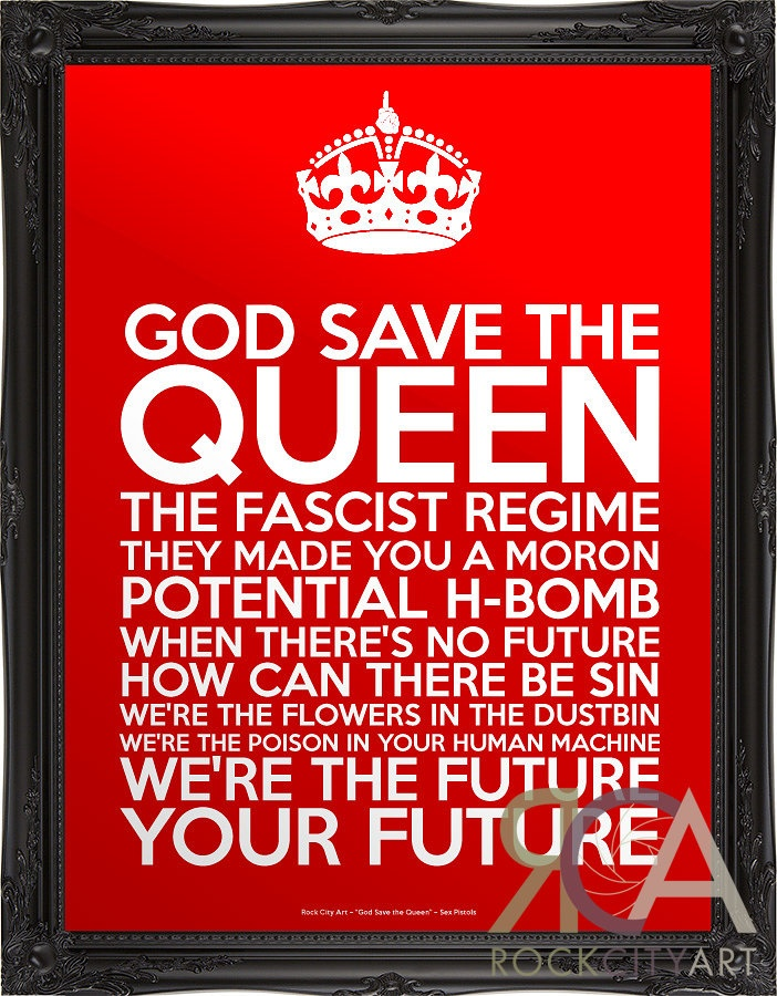 God Save The Queen By Sex Pistols 88