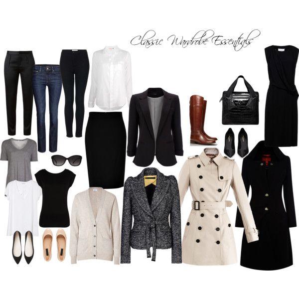 Classic Wardrobe Essentials Look Pinterest