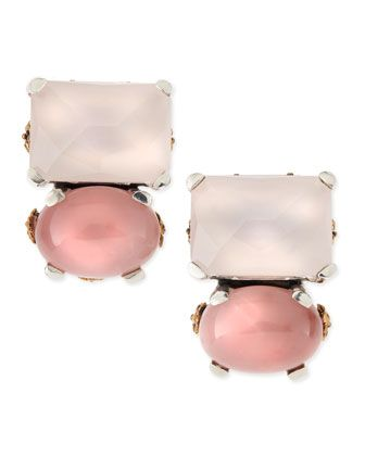 Shop now: Rose Quartz & Pink Chalcedony