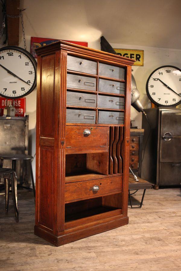 meuble de m tier de notaire ancien organize pinterest