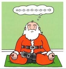 Ho ho ho yoga funny