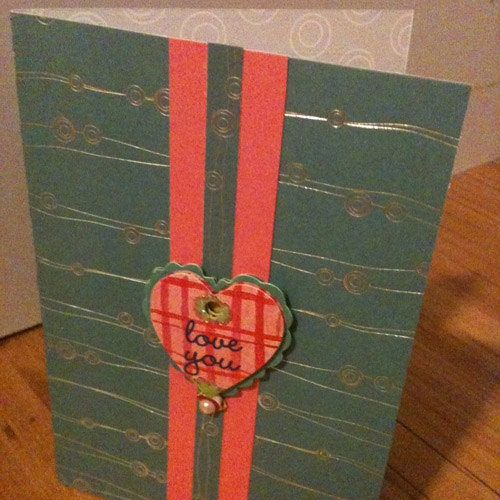 valentine day card blue mountain