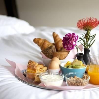 Ontbijt op bed - moederdag