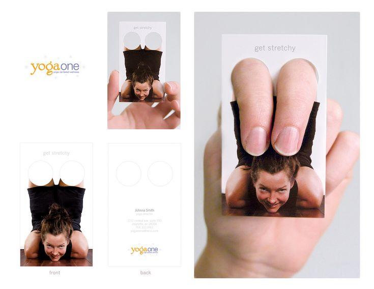 Nice teacher s business card I love yoga
