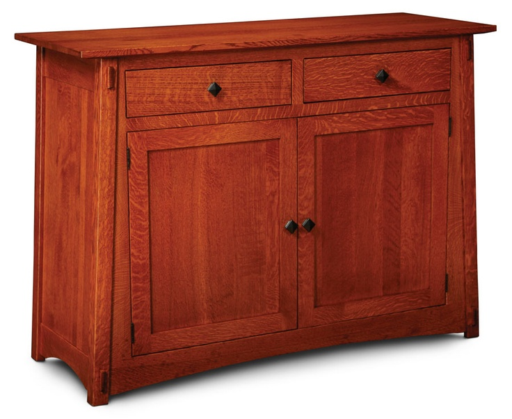 mccoy leaf storage buffet craftsman style furniture