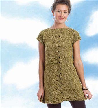 Dress Knitting Pattern : Pin by Deborah Baldridge on Craft Ideas Pinterest