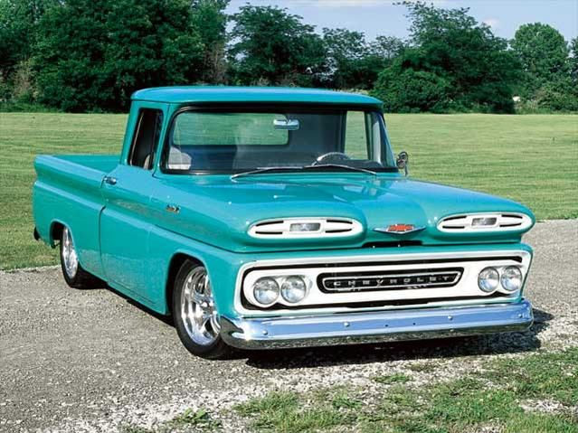 1961 Chevy Apache Pickup Truck Classic Front Grill