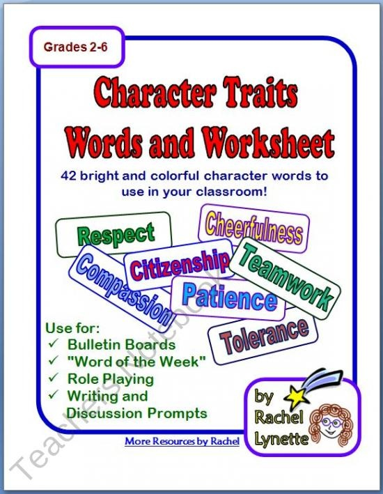 character words | Coping Skills | Pinterest