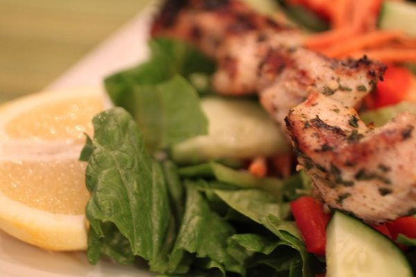 Garlic Lemon Chicken Kabobs – | Yummmy! | Pinterest