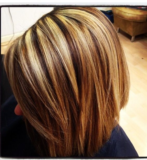 Bold Hair Highlights And Lowlights | HAIRSTYLE GALLERY