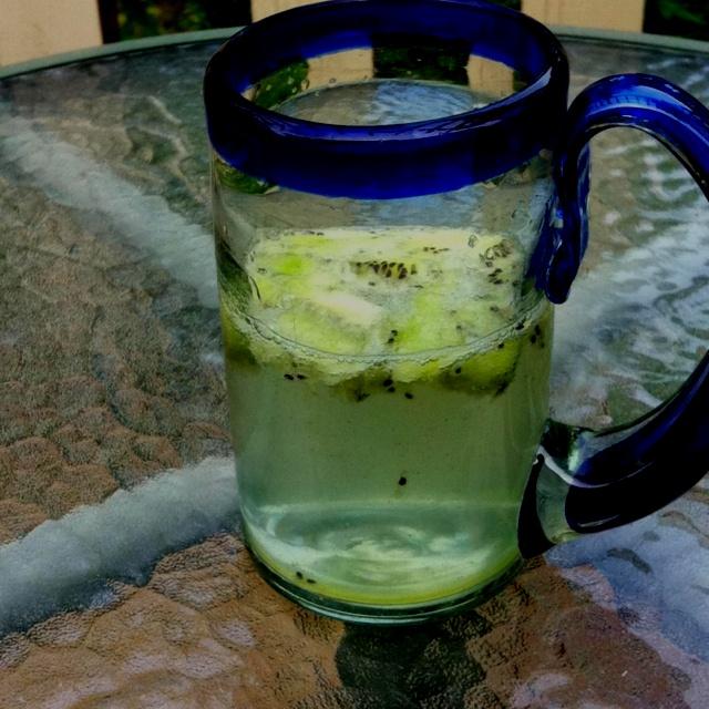 Kiwi soda water! | rad shit | Pinterest