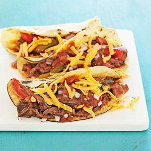 Shredded Beef Tacos | Recipe