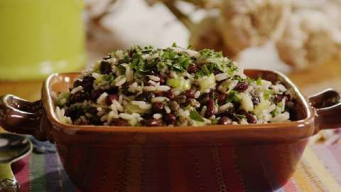 Herbed Rice and Spicy Black Bean Salad~ Allrecipes.com