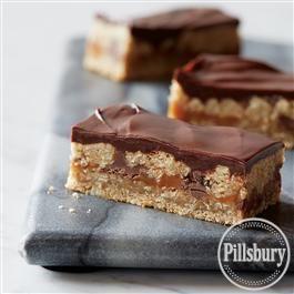 Oatmeal Caramel Delight Bars from Pillsbury® Baking