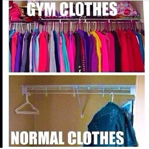 Anything I buy for wearing out, becomes gym attire within a week. - http://absextreme.com/gym-memes/anything-i-buy-for-wearing-out-becomes-gym-attire-within-a-week