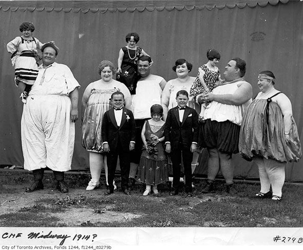 Toronto CNE performers from 1914 from the City of Toronto Archives