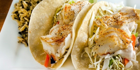 Grilled Fish Tacos. this blog is going to get me in trouble...