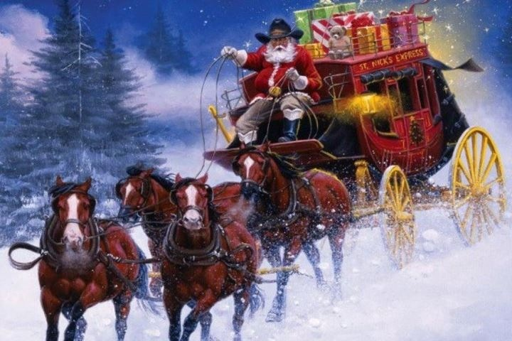 Image result for texas cowboy christmas
